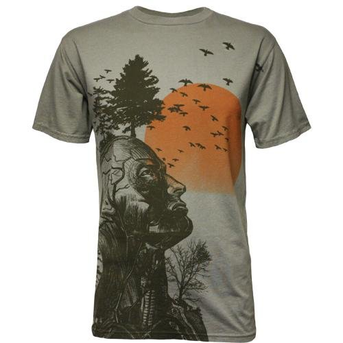 ree Herren T-Shirt by Junk Food (Medium) (Halloween-t-shirts Für Erwachsene)