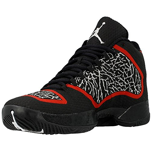 Nike Air XX9 pallacanestro Pattini viola 695.515-625 (10) Black/GYM RED/WHITE