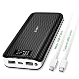 Best Accessoire Usb Power Batteries rechargeables - Chargeur Portable, 24000mAh Batterie externe EMNT 2.4A Charge Review