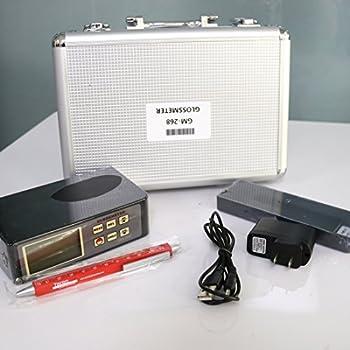Tr-z-gm-268 Digitaler Lcd Glanzmessgerät Usb Schnittstelle Rs-232 Datenausgabe 0,1 ~ 200gu 20 ℃ 60 ℃ 85 ℃ Glanzmesser Vancometer 2