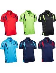 Joola Matera camisa de algodón, Opciones BK152, rojo / azul marino