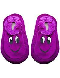 Neska Moda Premium Women's Smiley Cotton 1 Pair Indoor Slippers