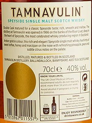 Tamnavulin Speyside Single Malt Whisky 1 x 0.7 l