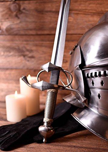 Seitschwert Mittelalter Schwert + scharf + echt von Hanwei ® - 3