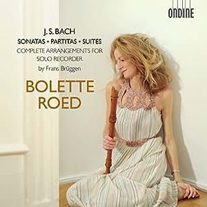 Sonates/Partitas/Suites/Arr pour Flûte a Bec Frans Bruuggen