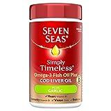 Seven Seas Lebertran Plus Geruchlose Knoblauch Ein Ein Tag 90 Kapseln