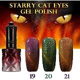 ANA Starry Cat Eyes Color Gel 12ml 24Colors Long Lasting Nail Polish#04791292(19)