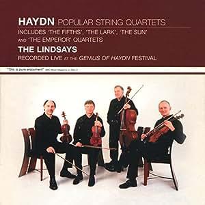 Haydn: Popular String Quartets - Live At The Genius Of Haydn Festival