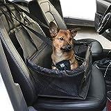 Porum Hochwertige, Wasserdichte Autositzerhöhung für Hunde, tragbare Tragetasche, Schutzkorb, Reisekonsole, Faltbare Käfig, Bett, Schutz mit Clip auf Sicherheitsleine, Gürtel für Jaguar F-Pace