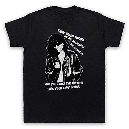 Inspiriert durch Patti Smith Land Horses Unofficial Herren T-Shirt Schwarz