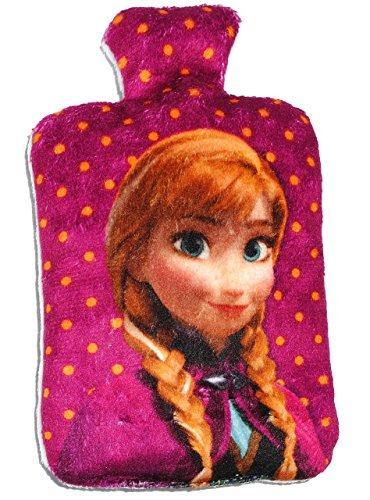 """kleines Kirschkernsäckchen / Körnerkissen / Plüschtier - """" Disney Frozen - die Eiskönigin - Anna """" - Mikrowelle - Wärme / Wärmekissen - Heizkissen Körner - wärmen + kühlen - groß Kuscheltier - Kirschkernkissen Tier / für Kinder Babys und Erwachsene - superweich - völlig unverfroren Prinzessin Elsa Arendelle - Olaf - Baby / Wärmetier - Nacken - Kinderwärmflasche"""