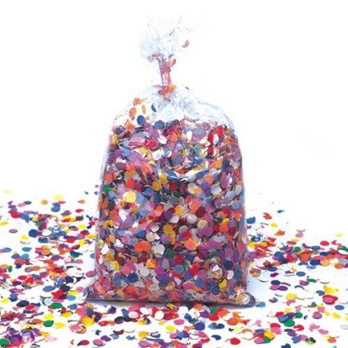 Déguisement - Sac de 1kg de confettis assortis