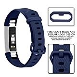 iloft Silicone Replacement Band for Fitbit Alta HR and Alta (Classic)