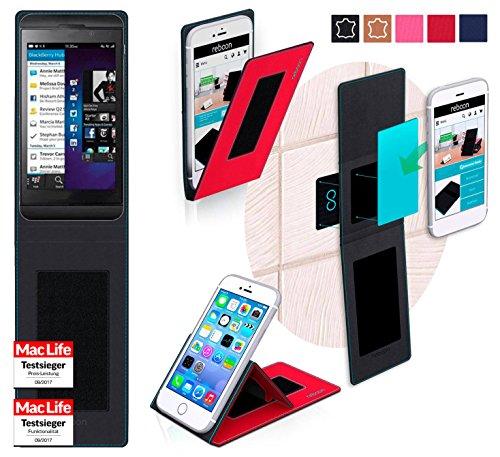 lackBerry Z10 Tasche Cover Case Bumper | Rot | Testsieger ()