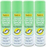 Beauty Formulas Odour Control Shoe Spray 150ml (PACK OF 4)