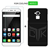 Coolpad Note 3 PLUS / Note 3 Combo of 1 Back Cover + 1 Tempered Glass