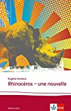 Rhinocéros: Une nouvelle