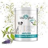 Ida Plus – Kräuter – Sehnen & Gelenke – Kräutermischung (100% natürlich) für Hund & Katze, Nahrungsergänzungsmittel für Beweglichkeit und Bewegungsfreude (150 g)