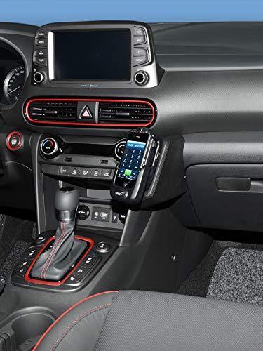KUDA 3250 Halterung Echtleder schwarz für Hyundai Kona ab 2017 3250 Gps