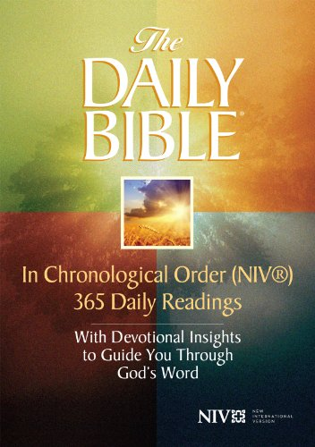 The Daily Bible® - In Chronological Order (NIV®) (English Edition)