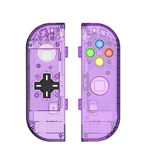 Myriann Translucent NS Joycon Handheld Controller Geh?use Mit D-Pad Taste DIY Ersatz Shell Fall f¨¹r Nintendo Switch Joy-Con (L / R) Ohne Elektronik -
