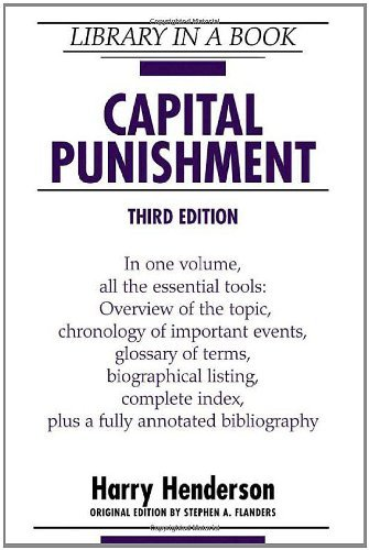 Capital Punishment (Library in a Book) (2005-11-01)