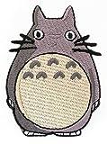 Mon voisin Totoro–Patch (8cm) brodée fer à repasser/coudre sur badge Applique Costume Anime Cosplay