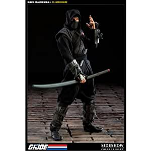Sideshow Collectibles - G.I. Joe figurine Black Dragon Ninja 30 cm