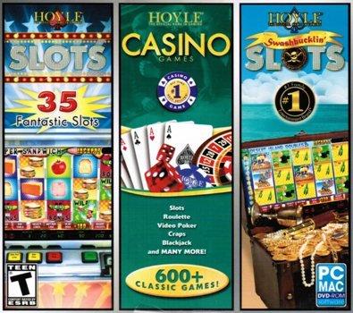 Hoyle 3 Pack: Clots + Casino Games + Swashbucklin' Slots