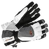 Ultrasport Herren Snowboardhandschuhe, Weiß/Grau/Schwarz, XL, 45324