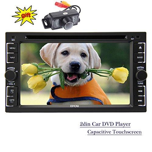 Eincar Navigation Verk?Ufer - Privilegierte Universal 2din Autoradio Stereo In-Dash 6.2 Zoll kapazitiver Touchscreen-Steuerger?t 3D-GPS-Navigation mit Touch-Pen FM/AM Radio Aux USB/SD Z (Sd-pen)