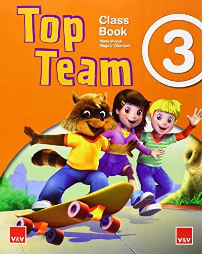 Top Team 3 Class Book - 9788468221830