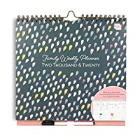 Boxclever Press Family Weekly Planner Wall Calendar. This 16 Month Family Wall Planner has a 6 Column Week-to-View Layout. Academic mid-Year Family Organiser for People with Busy Lives.