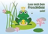 2 Postkarten netter Frosch