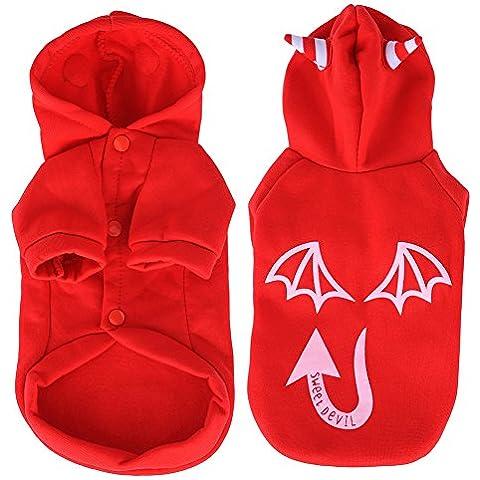 Perro de Ropa Para Mascotas noctilucent - Rojo, XL