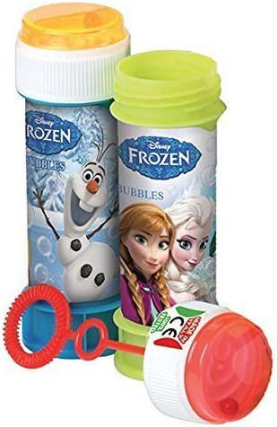 6 x Disney Frozen Bubbles - Baignoires Bubble - Sac Parti Jouets - Frozen Parties | La Réputation D'abord
