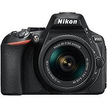 Nikon Camera SLR D5600+ Obiettivo Af-P 18-55 Vr, 24.2MP, Nero