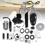 Kit Motore per Bicicletta 80CC 2 Tempi motorizzato con Motore a Gas per Bici Set Fai da Te