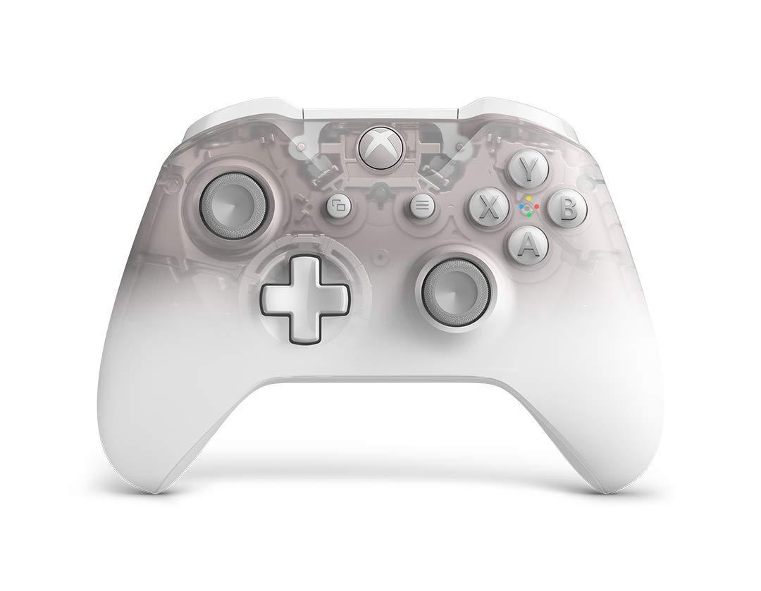 Microsoft – Mando Inalámbrico Phantom White – Edición Especial (Xbox One), blanco
