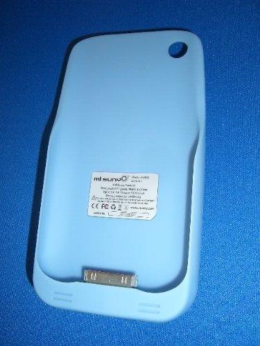 Misuny batteria di backup pacco batteria per iPhone 3G e 3GS, colore: Azzurro