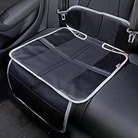PETEX 44499904 Kindersitzunterlage, Autositzauflage, schwarz