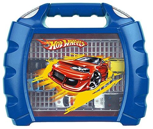 Hot Wheels - Maletín para coleccionar coches (Theo Klein 2823)