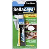 Ceys CEY400505501 - Silicona universal (50 ml) color transparente