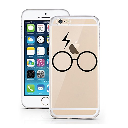 iPhone 6 Cover di licaso® per il Apple iPhone 6 & 6S in TPU silicone bumper motivo Ultra sottile protegge il tuo iPhone 6 & è elegante Cover in un, Harry Potter, iPhone 5 5S SE Harry Potter