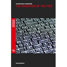 The Invention of the Text (Philosophy)