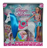 Simba 105737042 Steffi Love Magic Unicorn Puppe
