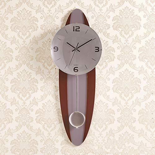 BGGZXX Reloj De Pared Retro Reloj De Cuarzo Mudo, Creativo Durable Sencillo, Salón Dormitorio Dormitorio,B