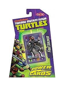 Cartas tortugas ninja mutantes - Figura de lucha del Clan del pie Tortugas