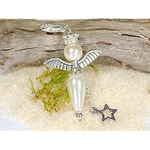 Schutzengel Engel Charm Anhänger Schlüsselanhänger