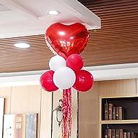 Caratteristica:1.Questo elemento è un pacchetto di 9pcs bellissimo set di palloncini.2.Questi palloncini sono autosigillante e possono essere gonfiati con elio o aria.3.Materiale: 100% nuovo e di alta qualità di elio stagnola.4.È possibile u...